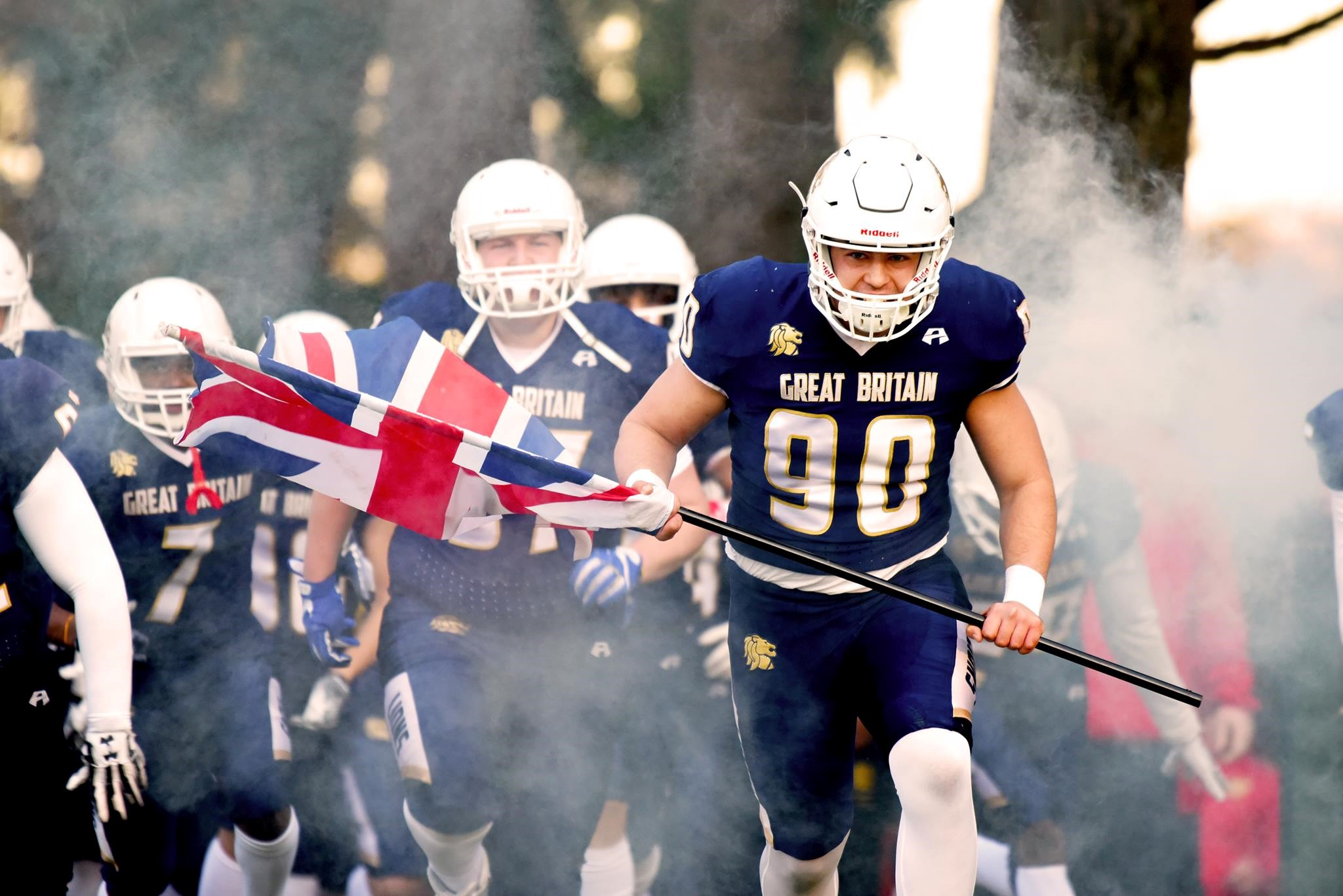 GB Lions and European Championships fixture with Denmark