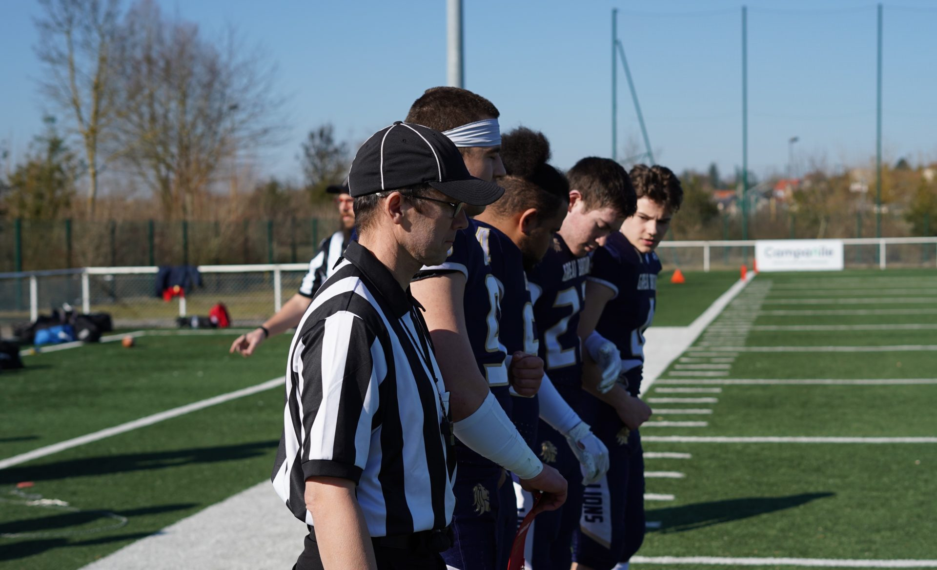 Return to play and referees