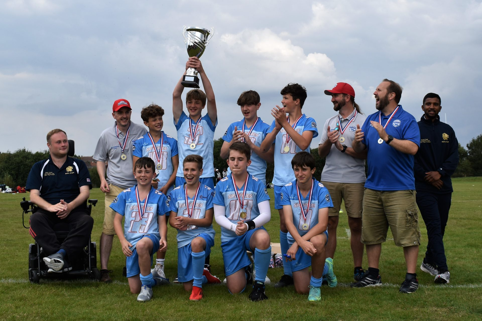 South Coast Spitfires at the double at 2021 Youth Flag National Finals